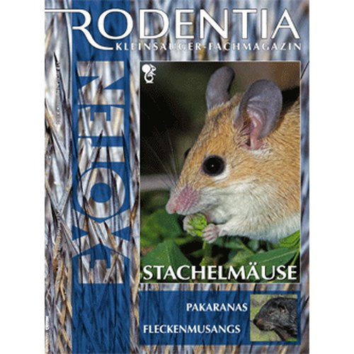 Rodentia 68 - Stachelmäuse (Juli/August 2012)