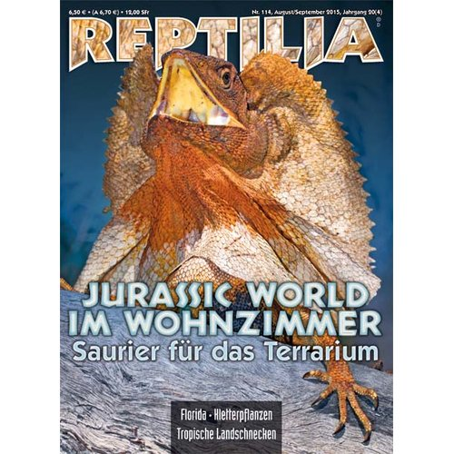 Reptilia 114 - Jurassic World im Wohnzimmer (August/September 2015)