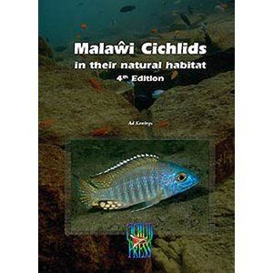 Malawi cichlids in their natural habitat 4th edition