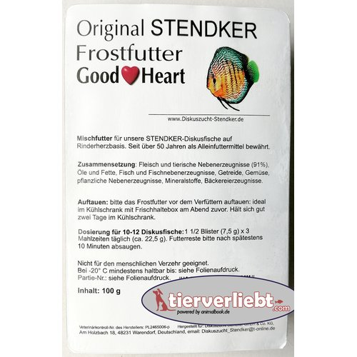 Stendker-Diskus Good Heart 100g Blister