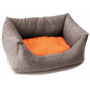BETT DUAL ORANGE/GRAU 85X70 CM