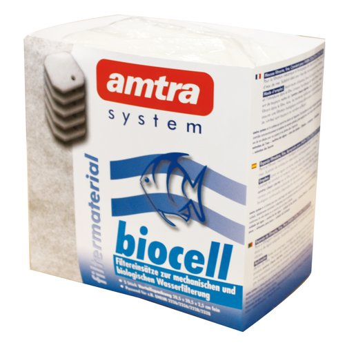 amtra BIOCELL 2 FILTER WATTEVILES WEISS 5ST